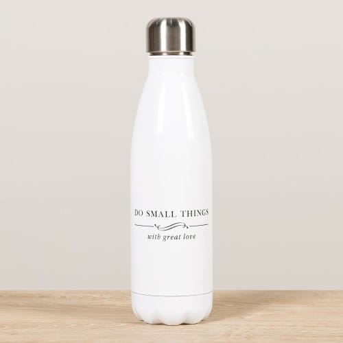 Personalized Do Small Things Water Bottle