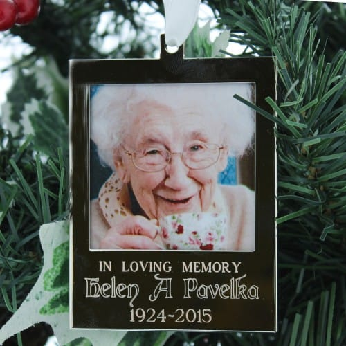 Personalized Irish Blessing Memorial Ornament