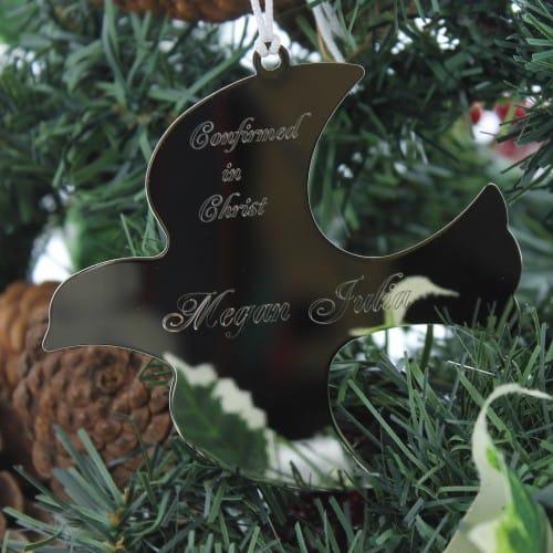 Personalized Dove Confirmation Ornament
