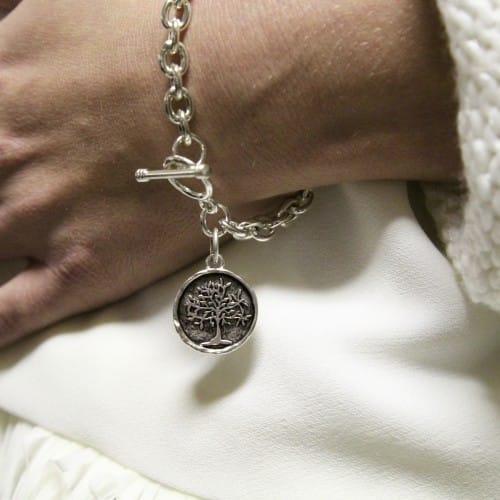 Tiffany Style Tree of Life Bracelet