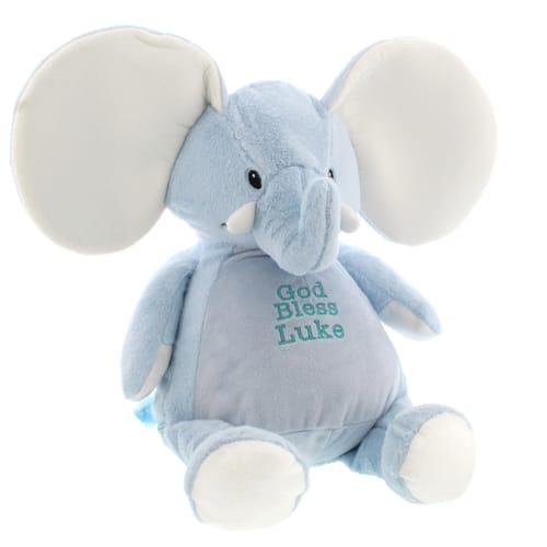Personalized God Bless Elephant Buddies