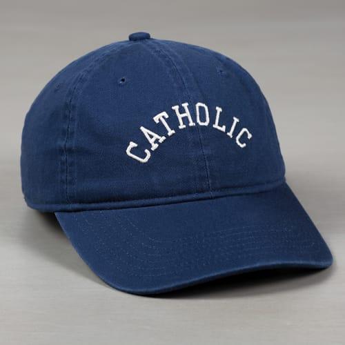 Collegiate Catholic Ball Cap