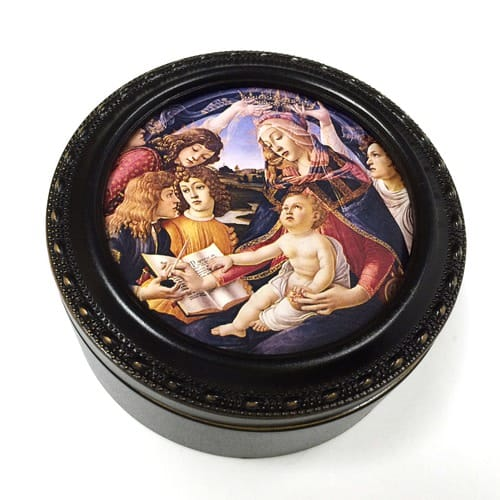 Botticelli Madonna of the Magnificat Keepsake Box