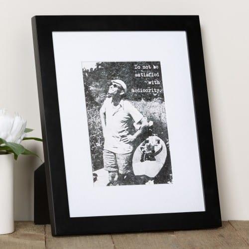 St. John Paul II Mediocrity Framed Print