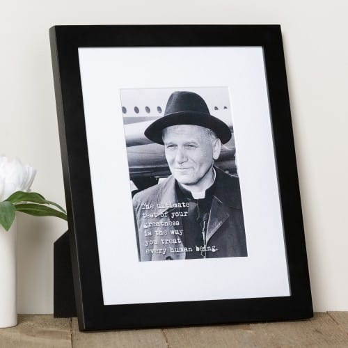 St. John Paul II Ultimate Test Framed Print