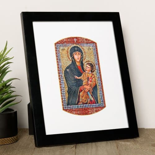 Mary Mother of the Church Print