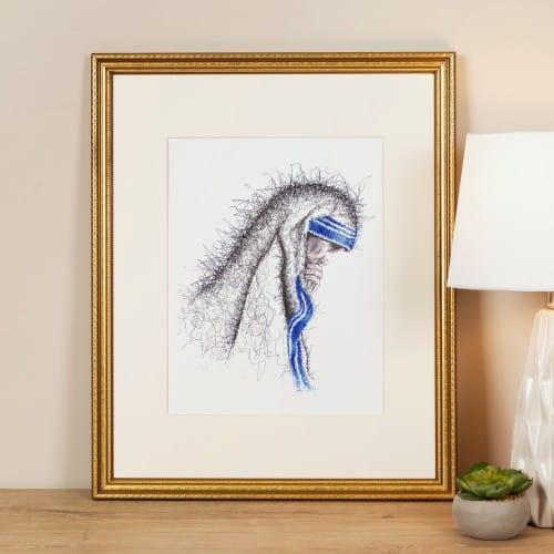 St. Mother Teresa Framed Print
