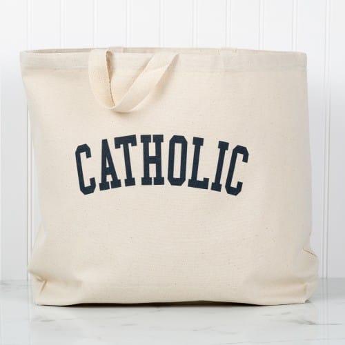 Collegiate Catholic Tote
