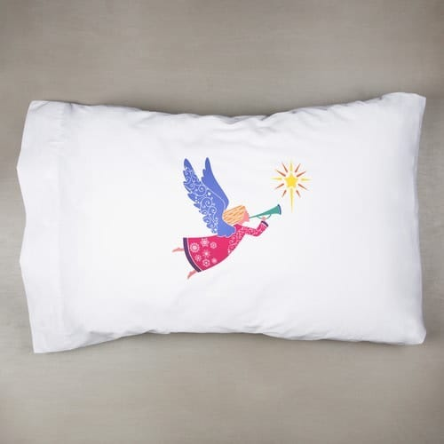 Angel Color Block Pillowcase