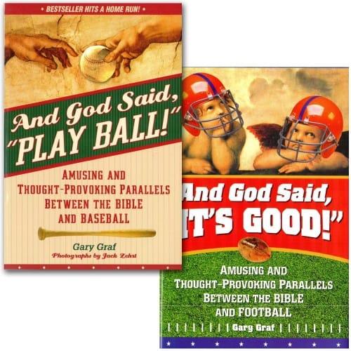"""And God Said, """"Play Ball!"""" (Sports 2 Book Set)"""