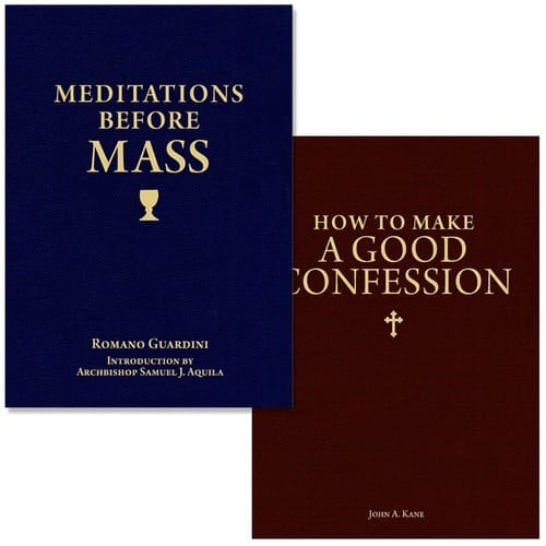 Meditations Before Mass & How to Make a Good Confession (2 Book Set)