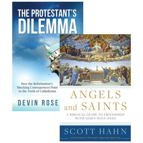 Angels & Saints and The Protestant's Dilemma (2 Book Set)