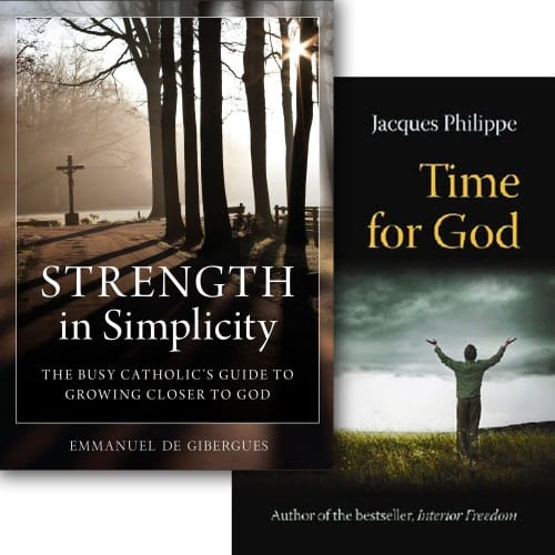 Strength in Simplicity & Time for God (2 Book Set)