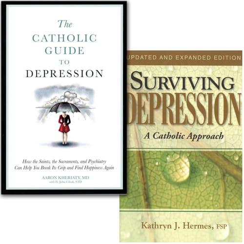 The Catholic Guide to Depression & Surviving Depression (2 Book Set)