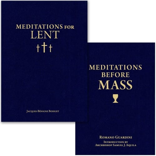 Meditations for Lent & Meditations Before Mass (2 Book Set)