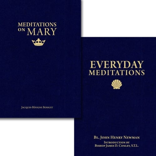 Meditations on Mary & Everyday Meditations (2 Book Set)