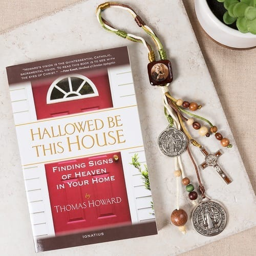 Hallowed Be This House & St. Benedict Home Blessing Set