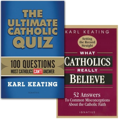The Ultimate Catholic Quiz & What Catholics Really Believe (2 Book Set)