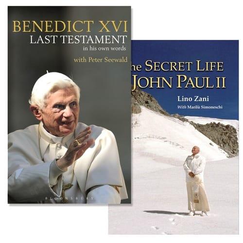 Pope Benedict XVI Last Testament & The Secret Life of John Paul II (2 Book Set)