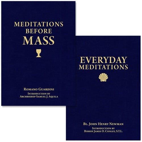 Meditations Before Mass & Everyday Meditations (2 Book Set)
