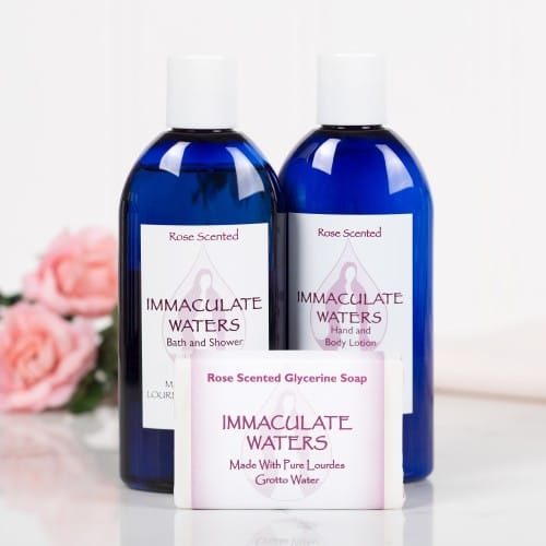 Immaculate Waters Rose Set (3-Pack)