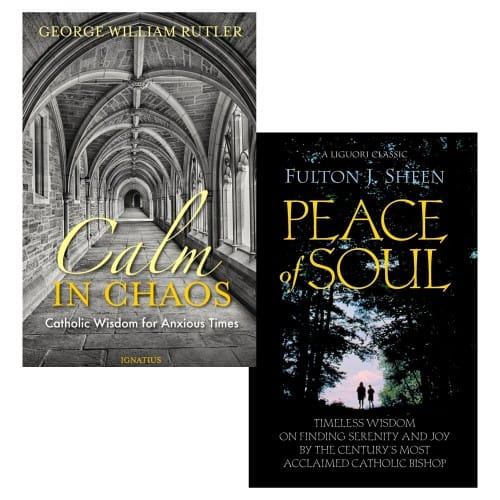 Calm in Chaos: Catholic Wisdom for Anxious Times & Peace of Soul
