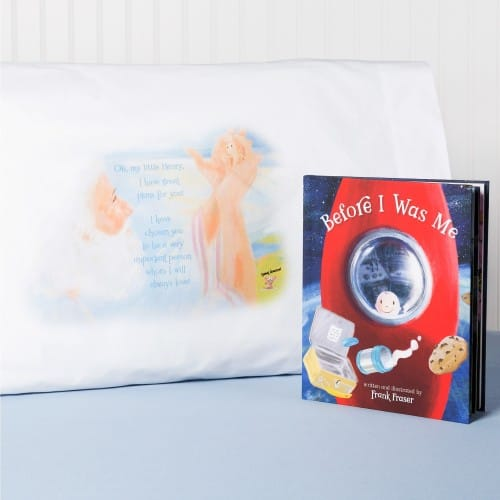 Before I Was Me & Personalized Pillowcase (2 Piece Set)
