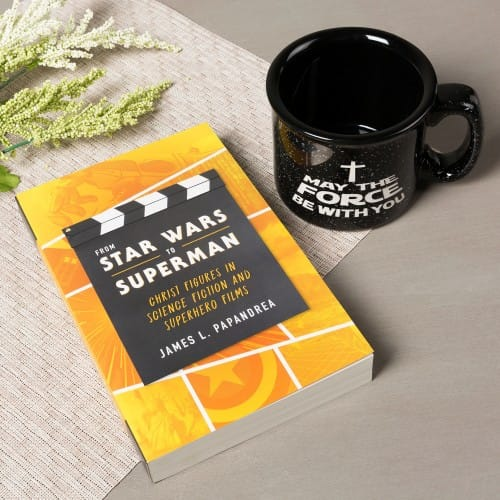 From Star Wars to Superman: Christ Figures in Science and Superhero Films & Force Be With You Mug (2 9991065