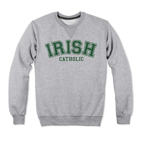 Irish Catholic Collegiate Sweatshirt