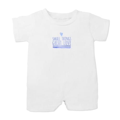 "Mother Teresa ""Small Things"" Infant Romper"