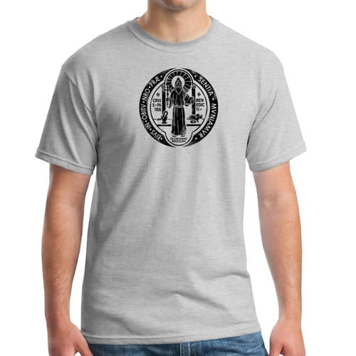 St. Benedict Grey T-Shirt