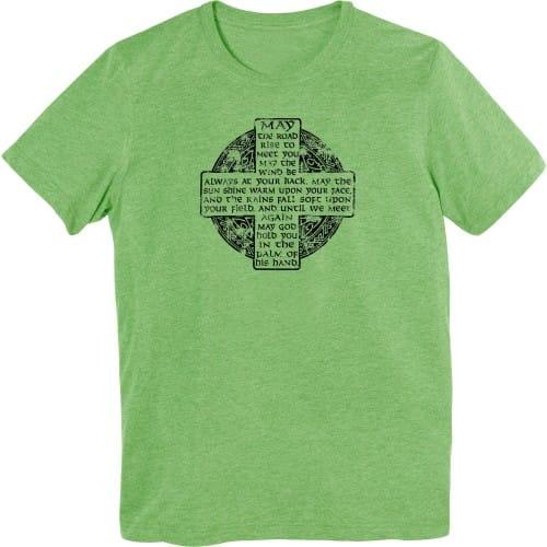 Green Irish Blessing T-Shirt