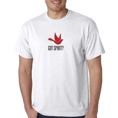 Got Spirit? White T-Shirt