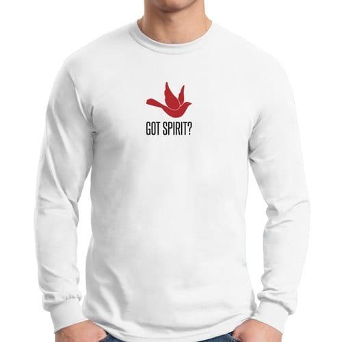 Got Spirit? White Long Sleeve