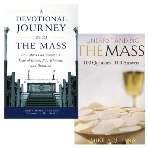 A Devotional Journey Into The Mass & Understanding The Mass: 100 Questions, 100 Answers (2 Book Set)