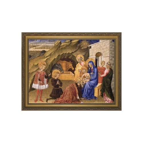 Adoration of the Magi w/ Gold Frame