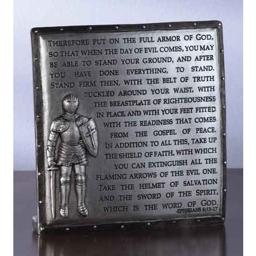 Armor Of Desk Plaque The Catholic Pany. Confirmation Gifts For Boys S