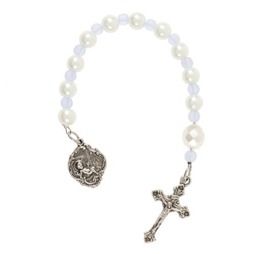 Baby Boy Keepsake Tenner Rosary