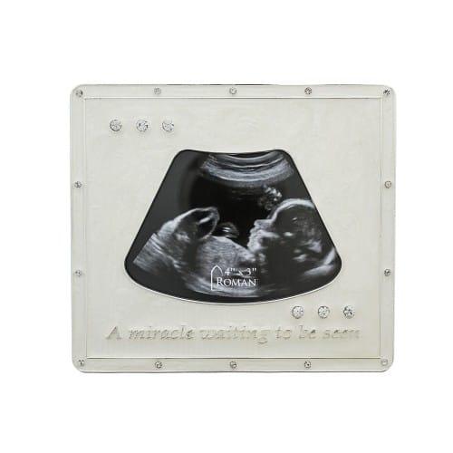 Baby Ultrasound Photo Frame | The Catholic Company