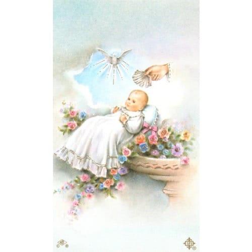 Baptism Personalized Prayer Card | The Catholic Company