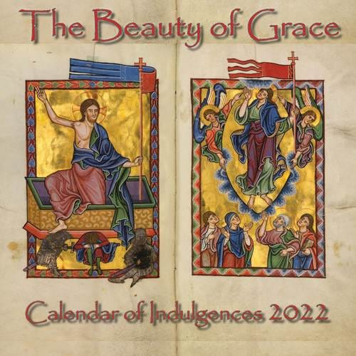 the beauty of grace 2019 calendar of indulgences