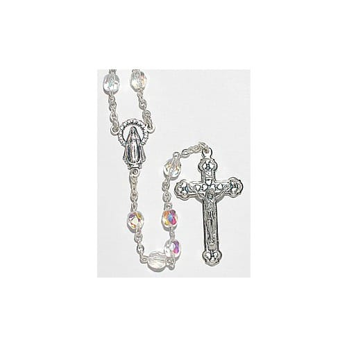 Birthstone Rosary - April