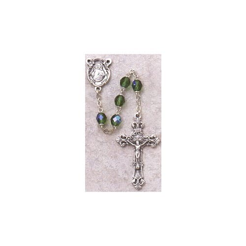 Birthstone Rosary - August