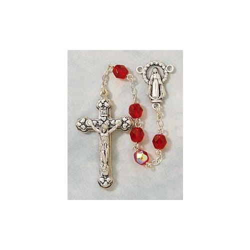 Birthstone Rosary - July