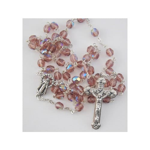 Birthstone Rosary - June