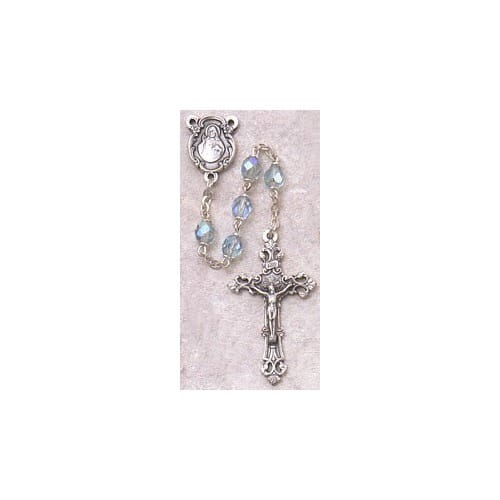 Birthstone Rosary - March