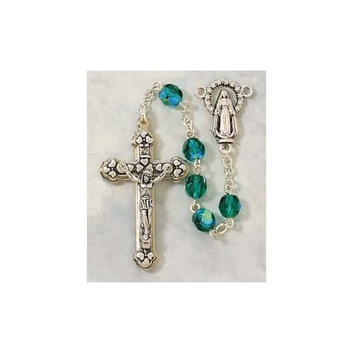 Birthstone Rosary - May