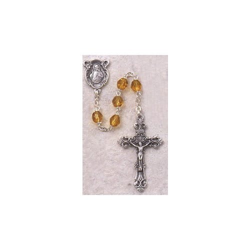 Birthstone Rosary - November