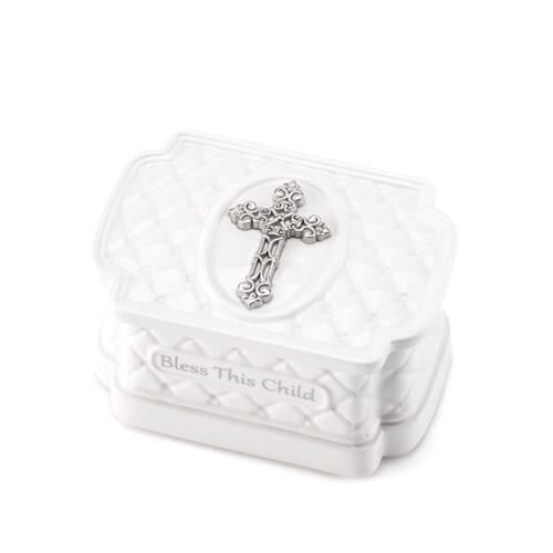 Bless This Child Keepsake Box & Rosary