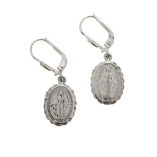 Blessed Mary Earrings